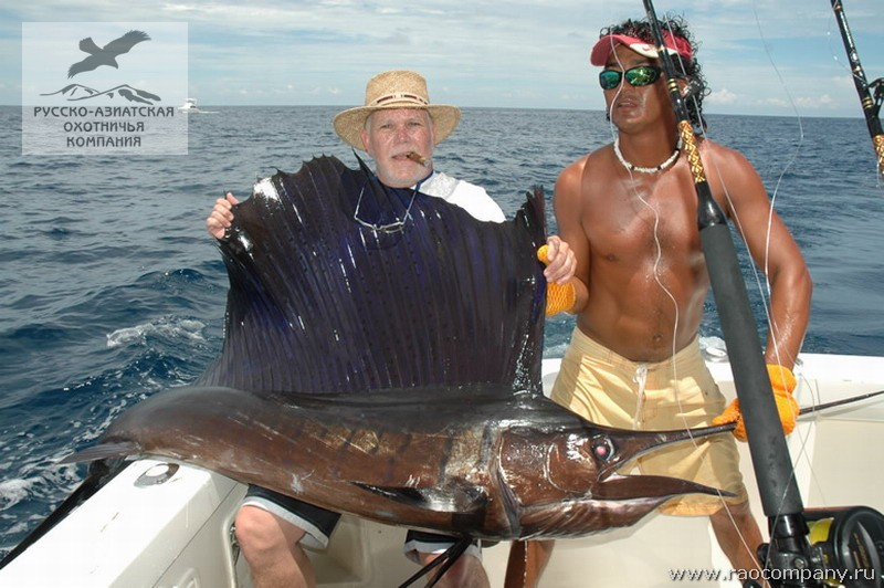 Морская трофейная рыбалка в заливе