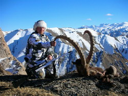 Ibex hunting in Tien Shan