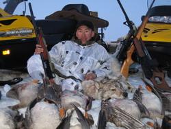 Охота на волка в Якутии