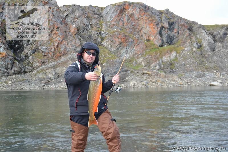 рыбалка на таймыре цена