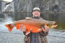 Рыбалка на арктического гольца на Таймыре