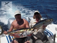 Рыбалка на желтоперого тунца (Yellowfin Tuna) на Сейшелах