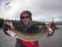 Рыбалка на амурскую щуку на реке Мая в Хабаровском крае