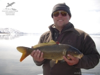 Рыбалка на сазана на Камчатке