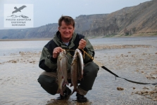 Рыбалка на ленка в Якутии