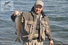 Рыбалка на кижуча на Камчатке
