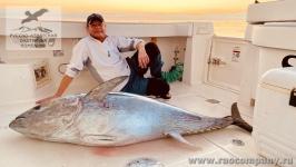 Рыбалка на тунца на Сейшелах