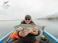 Рыбалка на озёрного гольца на Камчатке