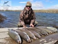 Рыбалка на гольца на Камчатке