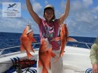 Рыбалка на красного снепера (Red Snapper) на Сейшелах