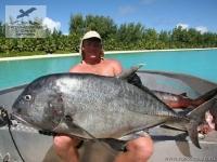 Рыбалка на каранкса на Сейшелах
