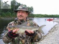 Рыбалка на сига на р. Уда, Хабаровский край