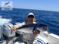 Рыбалка на тунца бонито (Kawakawa) на Сейшелах