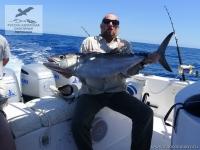 Рыбалка на собакозубого тунца (Dogtooth Tuna) на Сейшелах