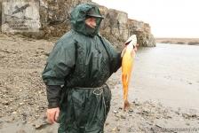 Рыбалка на гольца в Сибири