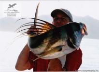 Рыбалка на рустера в Коста-Рике