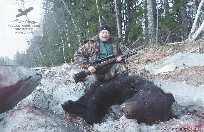 Охота в сибири видео