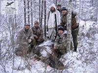 Охота на лося в Архангельской области
