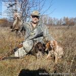 Охота на вальшнепа в Рязанской области
