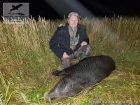 Охота на кабана в России