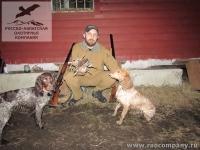 Охота на вальдшнепа в Рязанской области