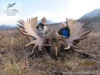 Охота на гигантского лося на Камчатке