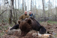 Охота на медведя в отрогах Западных Саян