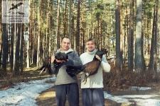 Охота на глухарей на Селигере