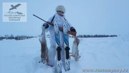 Охота на зайца в Саратовской области