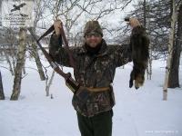 Охота на соболя на Камчатке