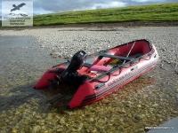 Лодка в Якутии