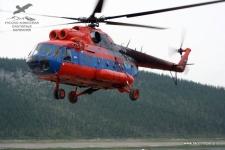 Вертолёт в Якутии