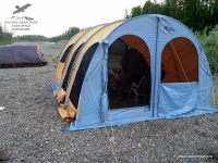 Палатка на р. Ерачимо