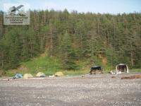 Лагерь на Шантарских островах