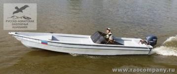 Моторная лодка в Астрахани