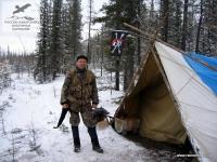 Палаточный лагерь на озере Тобо, Якутия