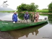 Лодка на Камчатке