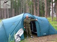 Палатка в Якутии