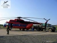 МИ-8 в пос. Туруханск