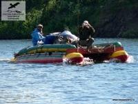 Катамаран на реке Ерачимо