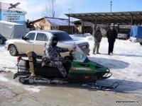 Снегоход в Саратовской области