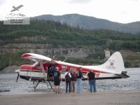 Гидросамолёт на Аляске