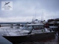 Рыболовный катер на Аляске