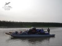 Грузовой катамаран в Якутии