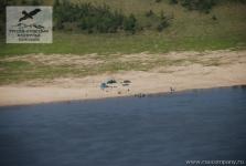 Палаточный лагерь на реке Оленёк, Якутия