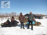 Охота со снегохода на Камчатке