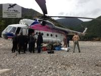 Вертолёт МИ-8 в Хабаровском крае