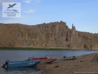 Моторные лодки на сплаве в Якутии