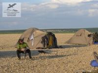 Палаточный лагерь в Якутии