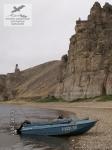 Моторная лодка в Якутии
